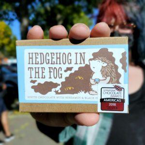 Hedgehog in the Fog Artisan Chocolate Bar